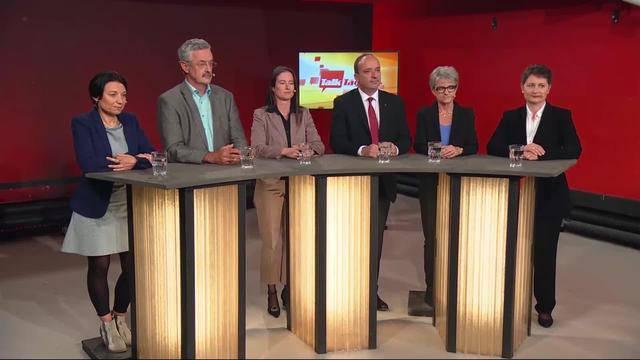 Die sechs neu Kandidierenden für den Regierungsrat im «TalkTäglich»