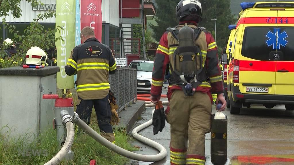 Grossbrand in Worber Citroën-Garage: Schock bei Mitarbeitenden sitzt tief