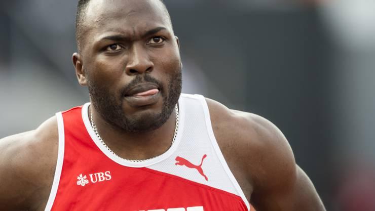 Starker Auftritt im Halbfinal über 200 m: Alex Wilson