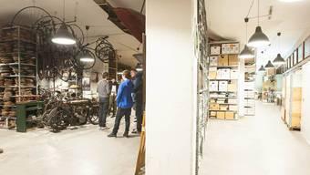 Vergangene Woche durfte sich Museumsleiter Gregor Dill über die Neueröffnung des Begehlagers freuen. Nun kämpft das Museum erneut ums Überleben.