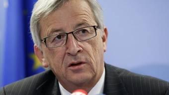 Der luxemburgische Regierungschef Jean-Claude Juncker (Archiv)
