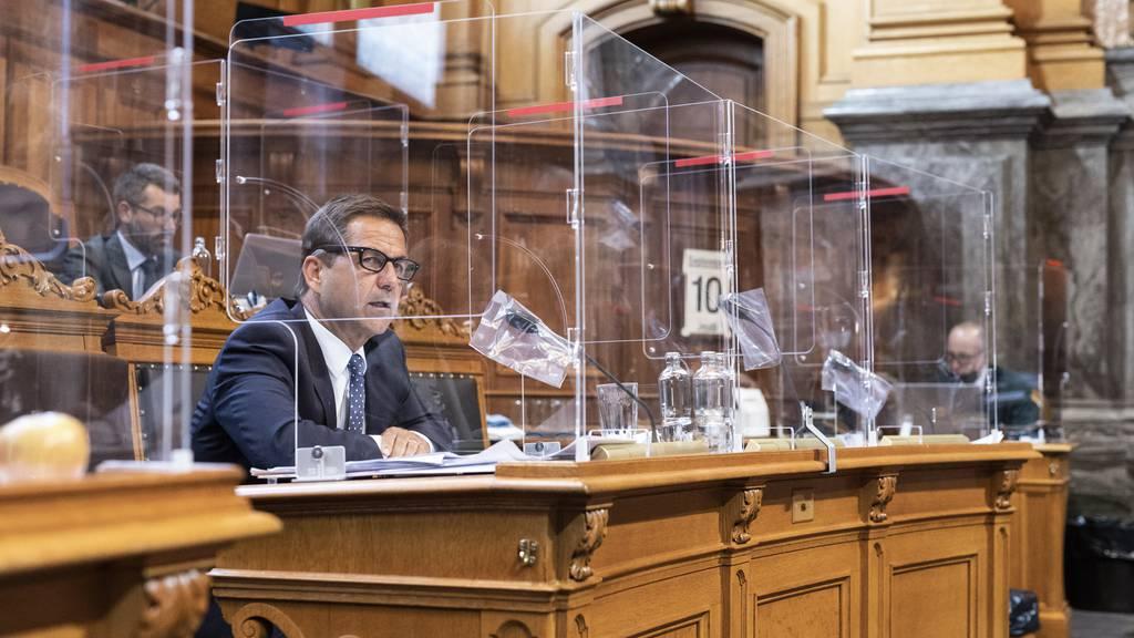 Nach Parlamentsdebatte: Covid-19-Gesetz besteht Lackmustest