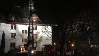 In der Nacht auf Samstag brannte ein Storchennest in Solothurn.