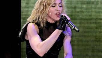 Muskeln, wohin das Auge reicht: Madonna