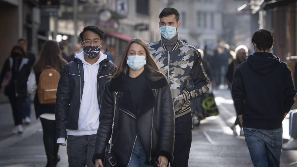Auch in Quartieren: «Im Zweifelsfall immer Maske tragen»