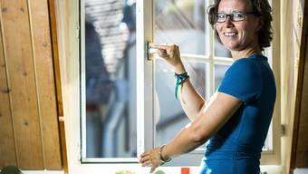 Die Psychologin Sara Michalik respektive die Aargauer Psychologen kümmern sich freiwillig um UMA, Jugendliche Flüchtlinge und Asylsuchende. Aufgenommen in Michaliks Praxis am Zollrain 2 in Aarau am 25. August 2016.