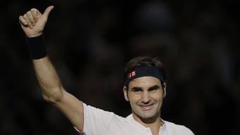 Paris-Bercy 3. Runde: Roger Federer - Fabio Fognini (01.11.2018)
