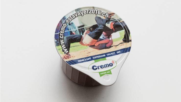 Swissness: das «Kafirähmli» für den Café Crème. keystone