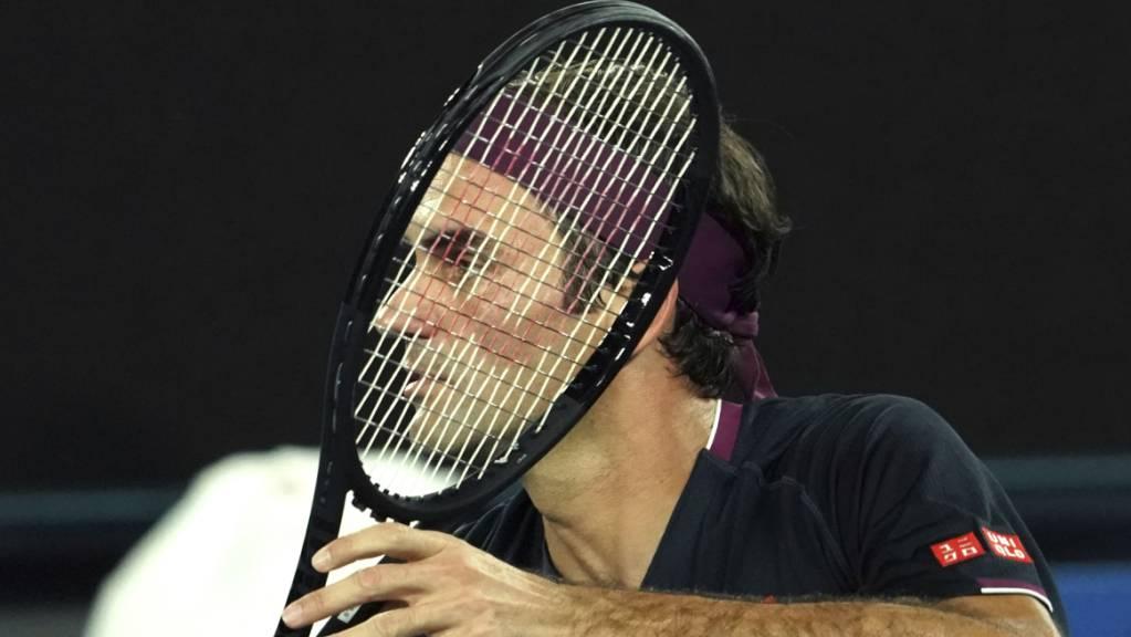 Roger Federer stellte mit seiner 21. Teilnahme am Australian Open in Melbourne einen Rekord auf