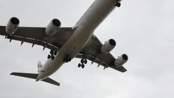 Anflüge auf Basel aus Süden: 2008 gab's mehr davon.