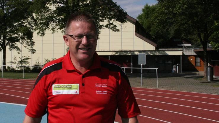 Andres Greter ist motiviert, als Badens Sportkoordinator weiterzuwirken.