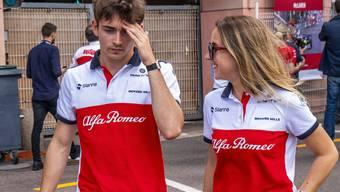 Saubers Formel-1-Neuling Charles Leclerc in Monaco