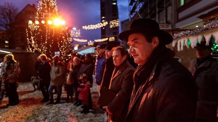 «Wiehnacht für alli» auf dem Marktplatz