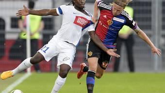 Hart umkämpft: Das Rückspiel zwischen Basel und Lech Posen