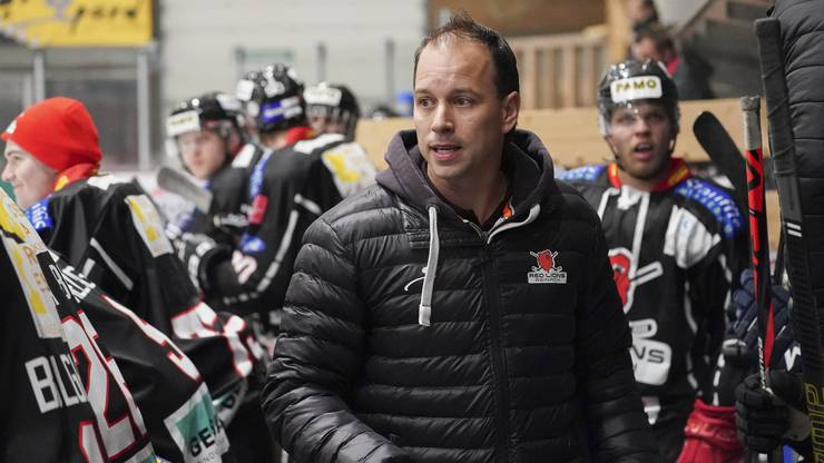 Coach Raphael Zahner hat die Red Lions aus der Krise geführt.