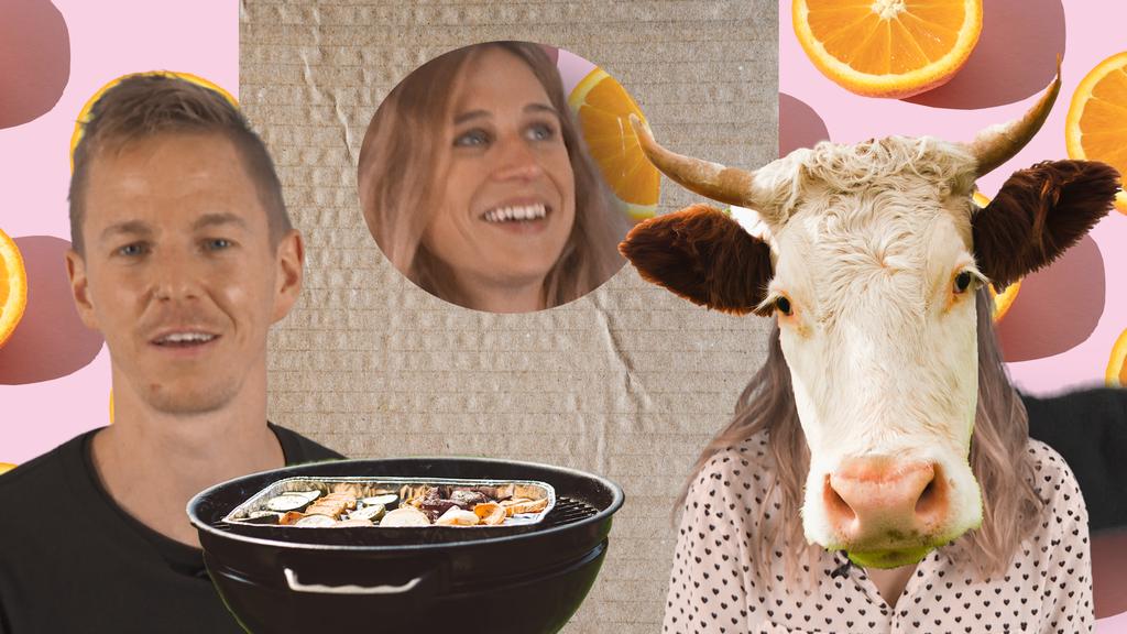 Als Kuh oder Kartonschachtel verkleidet: Unsere lustigsten Ferienjobs