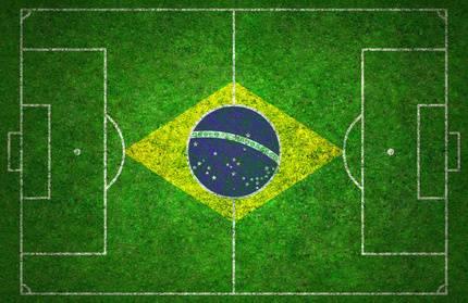12.06.2014: Eröffnung der Fussballweltmeisterschaft in Brasilien.