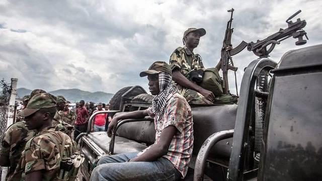 Rebellen von M23 in Goma (Symbolbild)