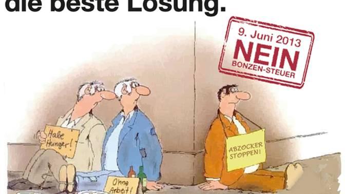 Von Uli Stein gezeichnet, von den Jungfreisinnigen verhunzt: Mit diesem geklauten Cartoon wirbt die Partei auf Facebook.