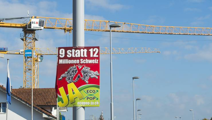 Auch die SVP Kanton Solothurn beschliesst: Ja zu Ecopop (Symbolbild)
