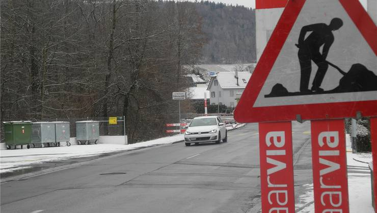 Ab heute Dienstag gilt wieder Einbahnregime auf der Fahrweidstrasse.