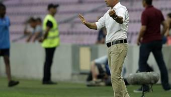 Trainer Giorgio Contini mit Vaduz an der Tabellenspitze