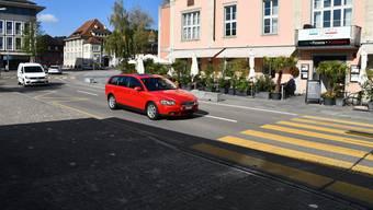 Wird in den Quartieren der Stadt Brugg Tempo 30 eingeführt, so kommen die Fussgängerstreifen rund ums Eisi weg.