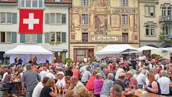 Die 1. August Feiern in Trimbach, Wangen, Boningen und Kappel