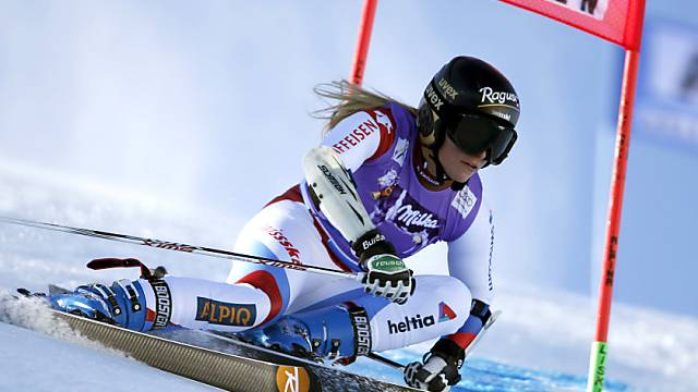 Lara Gut gewann letztes Jahr in Sölden mit grossem Vorsprung