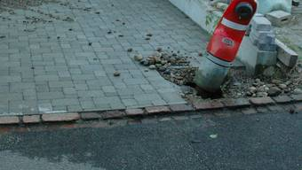 In Fulenbach fuhr ein betrunkener Autofahrer einen Hydranten an.