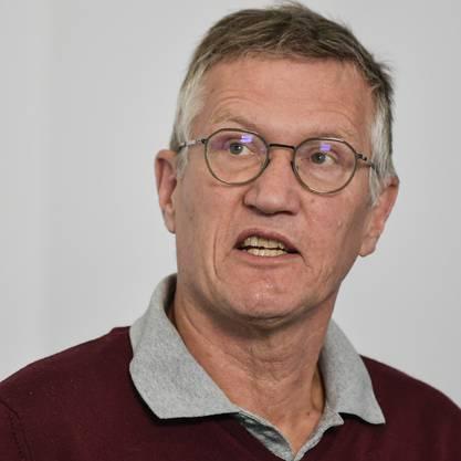 Anders Tegnell, Staatsepidemiologe.