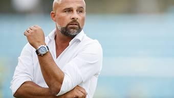 Coach Giorgio Contini muss mit Lausanne weiter auf den nächsten Sieg warten