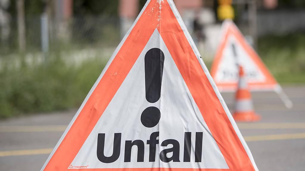 Auf Gegenfahrbahn geraten: Töfffahrer stirbt in Winterthur