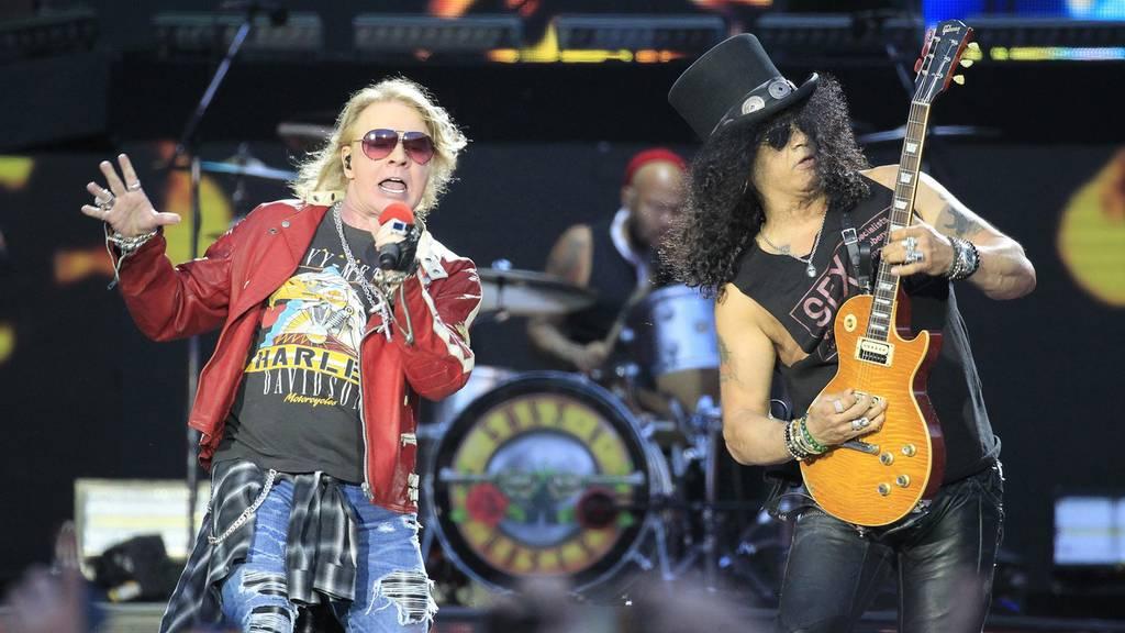 Guns N' Roses kündigt Tour an