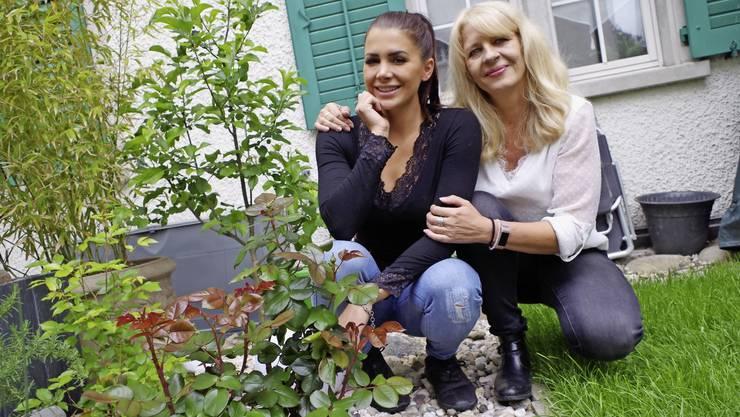 Stéphanie Santoro und ihre Tochter Andrina verstehen sich gut.