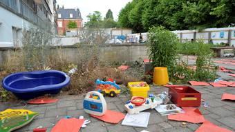 Bei einer illegalen Party wurde das Basler Kinderspital verwüstet