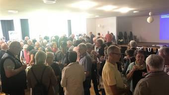 Senioren aus Herbetswil, Aedermannsdorf und Matzendorf trafen sich zum Info- und Messenanlass in Aedermannsdorf.
