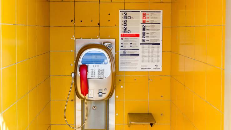 85 Prozent der Telefonkabinen rentieren nicht, so die Swisscom.