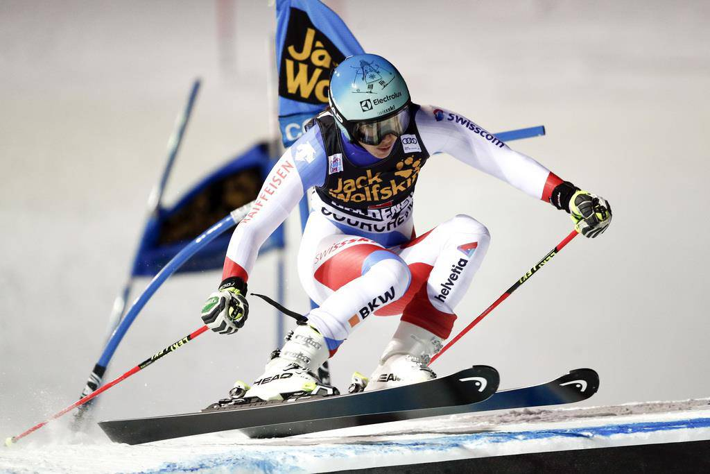 Parallel-Slalom in Courchevel (© Keystone)