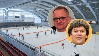 Für die Standortgemeinde Suhr nimmt Bau-Gemeinderat Thomas Baumann und für die Keba-Betreiber Stadtpräsident Hanspeter Hilfiker Stellung.
