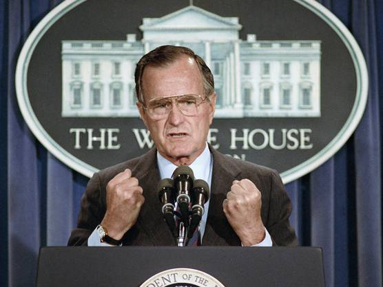 Fortsetzung der Bush-Dynastie in den USA: Ein Enkel des bereits verstorbenen früheren Präsidenten George H. W. Bush will Karriere in der US-Politik machen. (Archivbild)