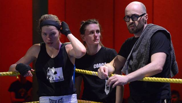 Gehen getrennte Wege: Sandra Brügger (links) mit ihrem ex-Trainer Angelo Gallina.
