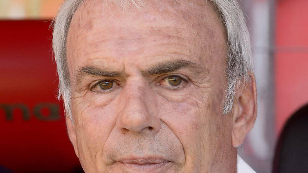 Der Xamax-Trainer Michel Decastel ist trotz des Sieges nicht restlos zufrieden