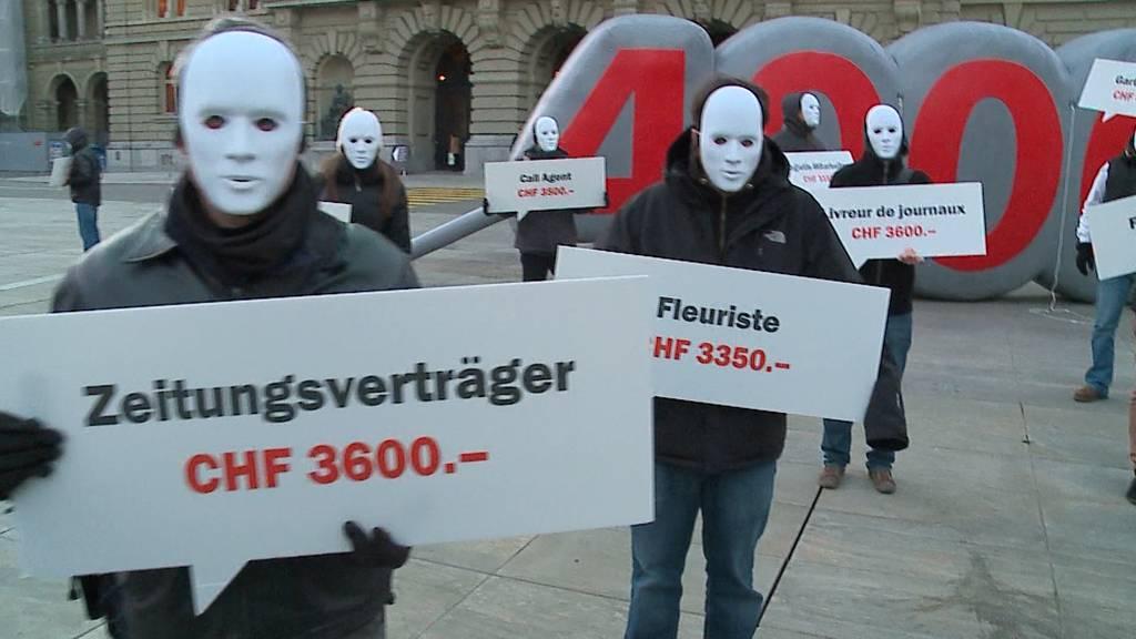 Mindestlohn-Initiative in Zürich: Nicht weniger als 23 Franken pro Stunde