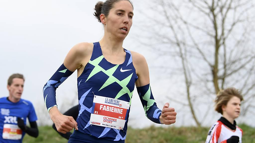 Fabienne Schlumpf läuft Schweizer Rekord