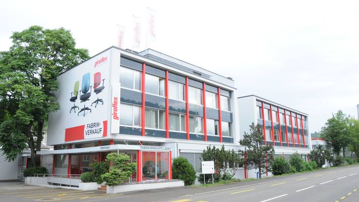 Der Giroflex-Hauptsitz in Koblenz. Das Unternehmen gehört seit 13. Juli 2017 dem norwegischen Konzern Flokk.