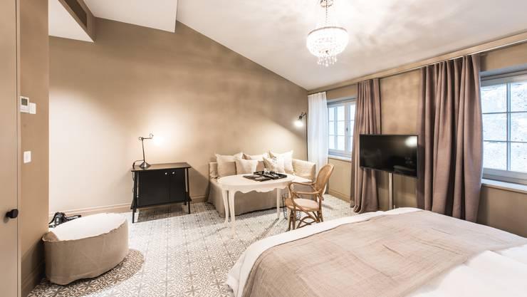 Die Wiedereröffnung der «Krone» (neu: «Couronne») ist Mitgrund für den Übernachtungsrekord 2017 in Solothurn. 2018 folgen noch neue Zimmer (im Bild) über der Kronengarage, die vielleicht nochmals für ein Plus sorgen.