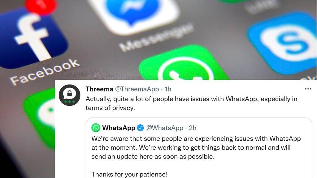 So reagiert die Twitter-Welt auf den Facebook-Ausfall