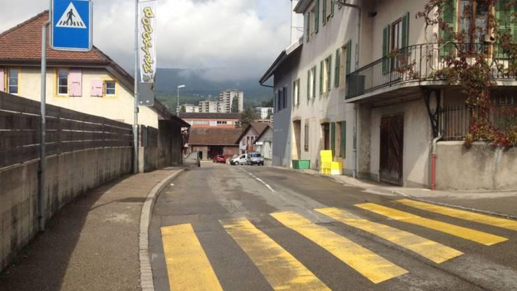 Das Quartier in Boudry, wo sich das Drama abspielte
