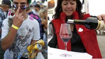 Wein auf Bier ist ebenso schlimm wie Bier auf Wein, sagen deutsche Forscher.
